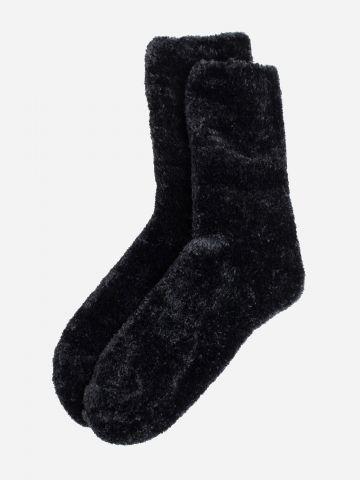 גרביים גבוהים פרוותיים / נשים