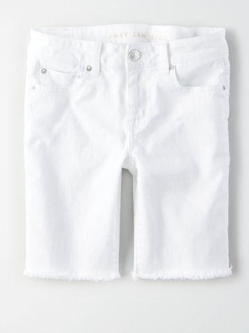 ג'ינס ברמודה עם פרנזים / נשים