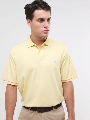 חולצת פולו קלאסיק פיט עם רקמת לוגו