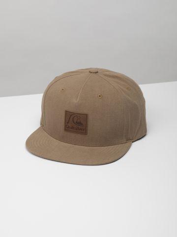 כובע מצחייה עם פאץ' לוגו מרובע / גברים