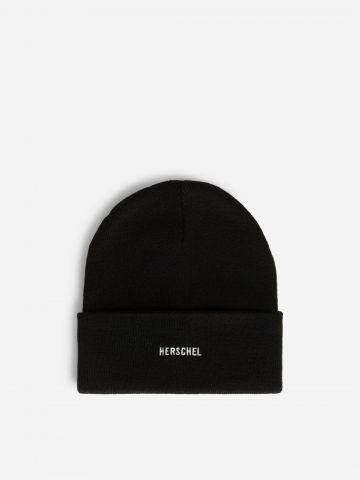 כובע גרב עם רקמת לוגו