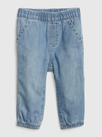 ג'ינס ארוך עם גומי במותן / 0-24M