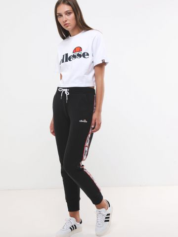 מכנסי טרנינג ארוכים עם סטריפים בצדדים