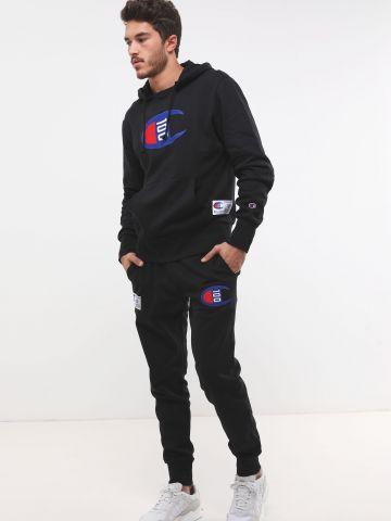 מכנסי טרנינג פוטר עם פאצ'ים לוגו