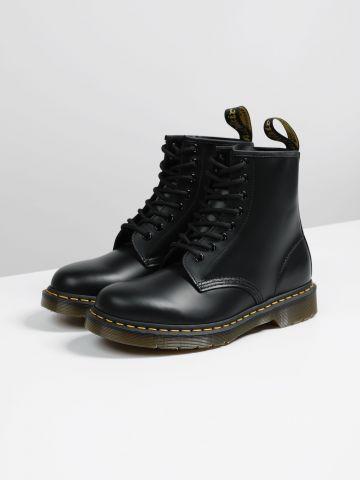 מגפי עור עם שרוכים 8 Eye Boot / גברים