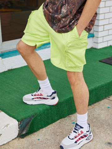 מכנסיים קצרים עם כיסים FILA