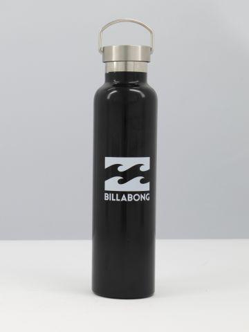 בקבוק מים מתכת עם לוגו