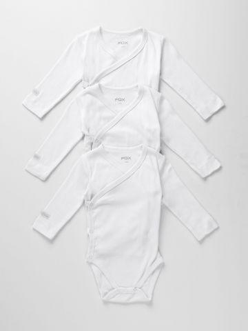 מארז 3 בגדי גוף מעטפת / N.B-6M