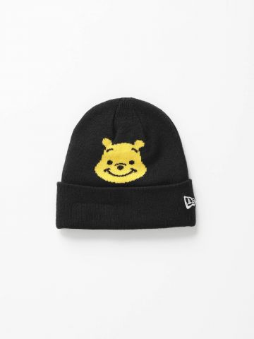 כובע גרב עם הדפס פו הדב / בנות