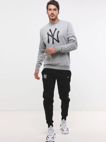 מכנסי טרנינג עם רקמת New York Yankees