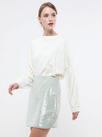 חצאית פאייטים מיני