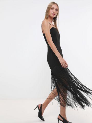 שמלת מקסי פרנזים