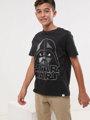 טי שירט Star Wars באפקט מטאלי