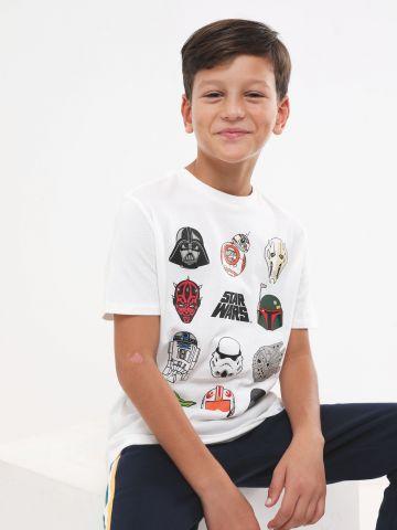 טי שירט עם הדפס Star Wars