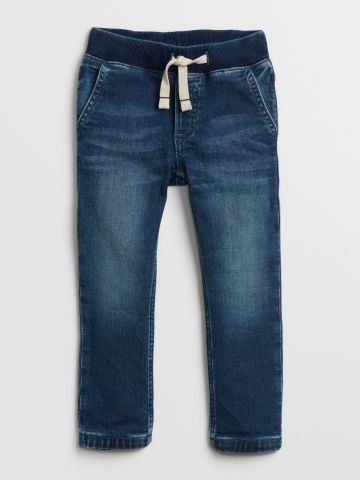 ג'ינס סטרץ' עם גומי מותן / 12M-5Y