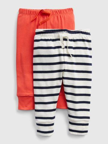מארז 2 מכנסיים ארוכים / 0-24M