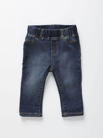מכנסי ג'ינס ארוכים / 12M-5Y