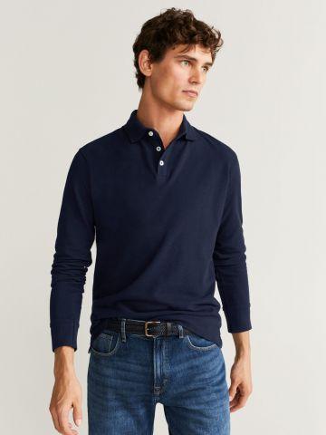 חולצת פולו שרוולים ארוכים