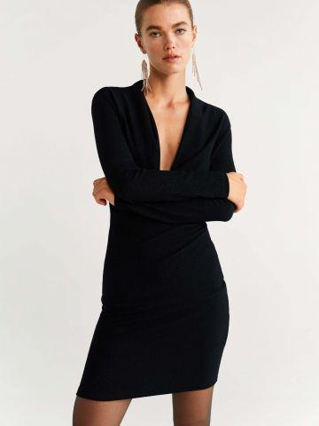 שמלת לורקס מיני בסגנון מעטפת