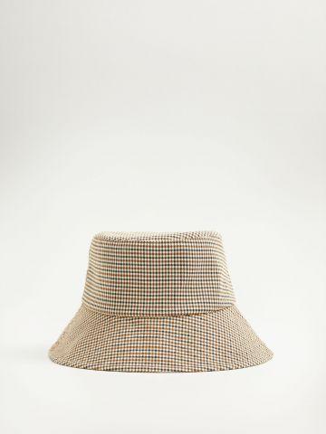 כובע באקט בהדפס פפיטה