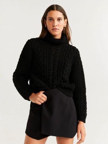 מכנסי חצאית קצרים בסגנון מעטפת