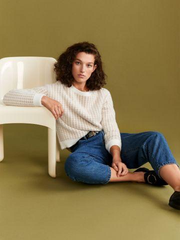 סוודר בהדפס פפיטה של MANGO