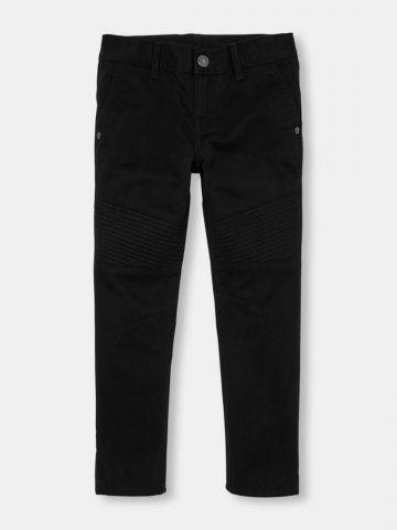 מכנסיים ארוכים עם עיטורי תפרים מודגשים / בנים