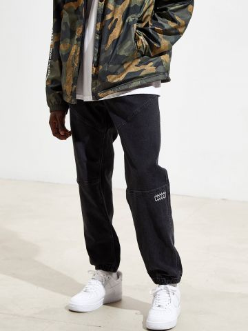 ג'ינס טראק בשטיפה כהה BDG