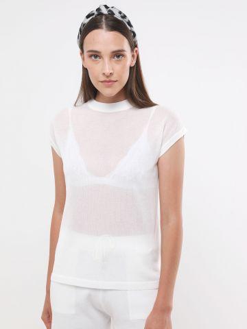 חולצת סריג שקופה של YANGA