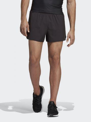 מכנסי ריצה קצרים דריי פיט עם לוגו