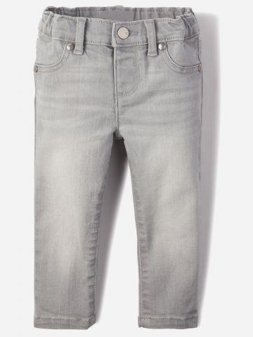 ג'ינס בשטיפה בהירה / 9M-5Y