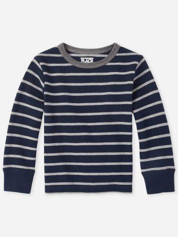חולצת פיקה בדוגמת פסים / 9M-5Y