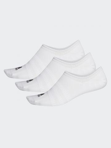 מארז 3 זוגות גרביים נמוכים עם לוגו