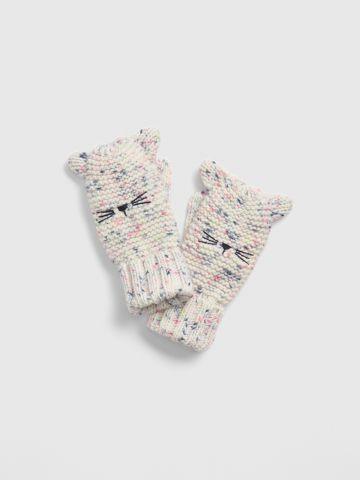 כפפות חתול סרוגות / בנות