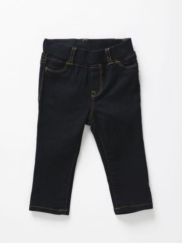 ג'ינס ארוך בשטיפה כהה / 12M-5Y