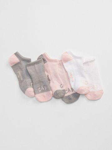 מארז 3 זוגות גרביים צבעוניים / בנות
