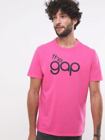 טי שירט עם הדפס לוגו Gap 50th anniversary