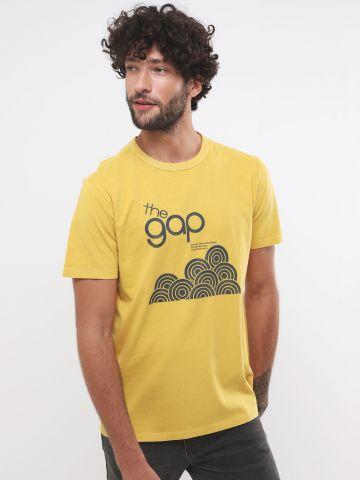 טי שירט לוגו Gap 50th anniversary