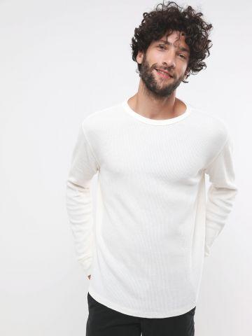 חולצת פיקה שרוולים ארוכים