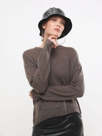 סוודר בייסיק חלק