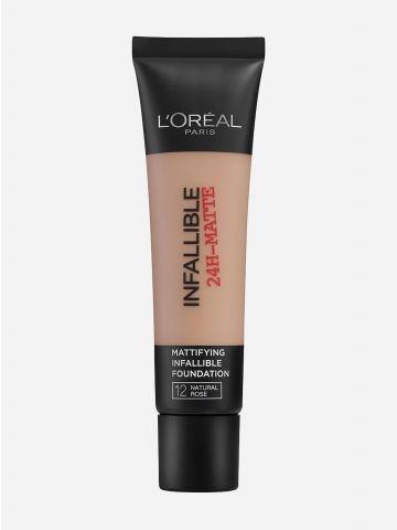 מייק אפ עמיד Infallible Pro-Matte Natural Rose 12 של L'OREAL