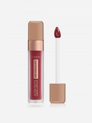 שפתון שוקולד עמיד Ultra Matte Tasty Ruby