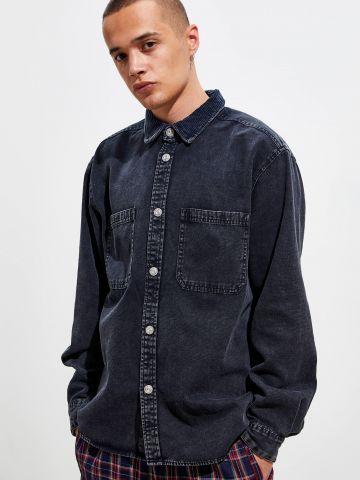 חולצת ג'ינס מכופתרת BDG