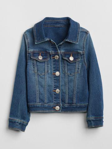 ג'קט ג'ינס עם כפתורים / 12M-5Y