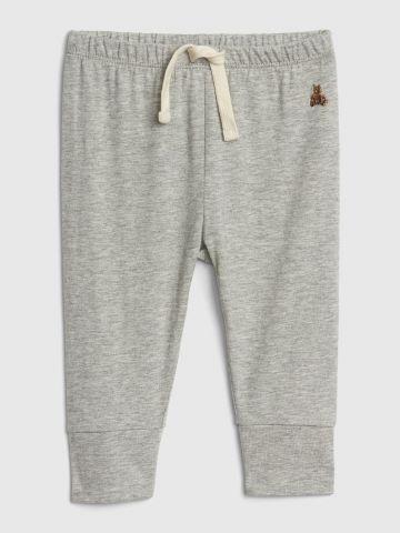 מכנסיים ארוכים עם גומי / 0-24M
