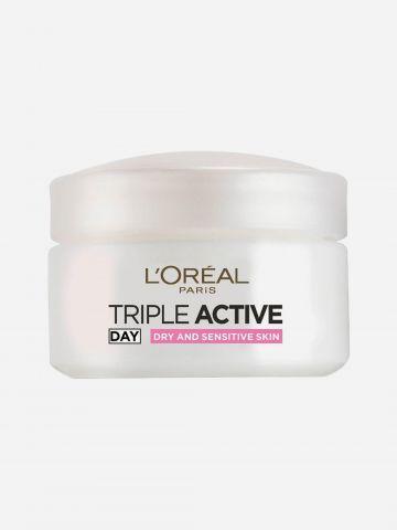 קרם לחות פעולה משולשת לעור יבש Triple Active