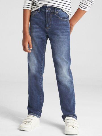 ג'ינס ארוך בשטיפה כהה / בנים