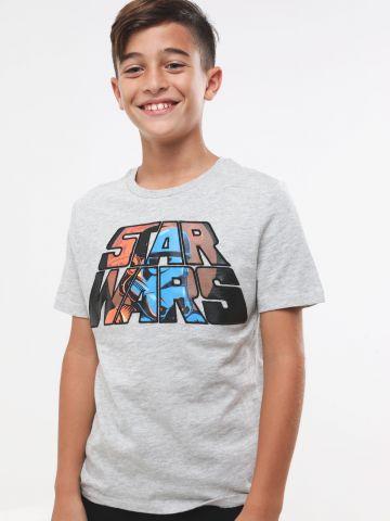 טי שירט מלאנז' Star Wars