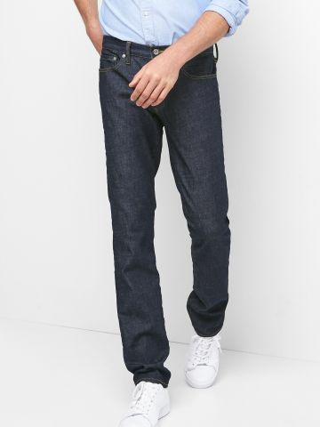 ג'ינס ארוך בגזרה ישרה