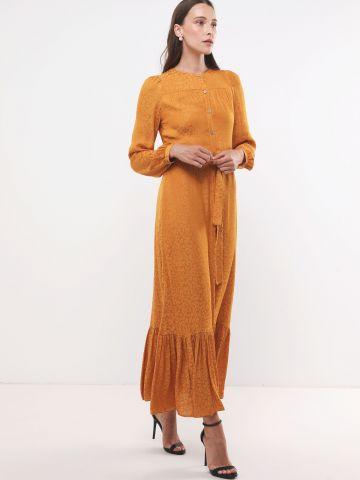 שמלת מקסי בהדפס חברבורות